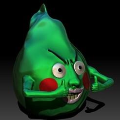 InkedCapprofile_LI.jpg Télécharger fichier STL Ekubo-Smile  Mob psyko 100 • Modèle imprimable en 3D, biquerimicka