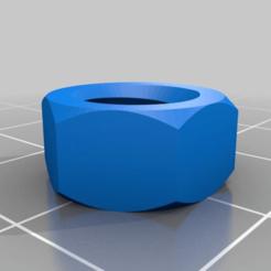 nut_job_20150121-5156-xisyz6-0.png Download free STL file Nut for Ferret Litter Pan • 3D printing object, menissalt