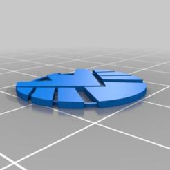 a648abac47220b39eb8d56bbc4943bb7.png Télécharger fichier STL gratuit Épaississeur de logo S.H.I.E.L.D. • Objet imprimable en 3D, menissalt