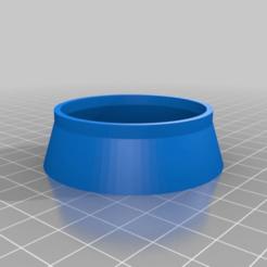 9b8b38dfe32f4fa773cb04521b53d343.png Download free STL file Breville 54mm Portafilter funnel • 3D printing template, menissalt