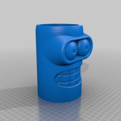 6f6f7b12559f37ed22801184bbfe2f97.png Download free STL file Bender Money Jar • 3D printer model, menissalt