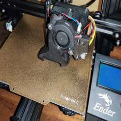 IMG_20191224_021244_2.jpg Download free STL file Ender 3 Hemera Mount w/5015 fan, BLTouch, & Marlin config • 3D print model, menissalt
