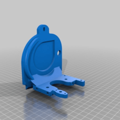 a443356139f501512e7471d98913f619.png Download free STL file Lulzbot Taz 5 Combo Extruder Mount for Bltouch with diiicooler • 3D printer model, menissalt
