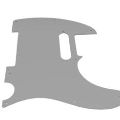 Screenshot (217).png Télécharger fichier STL Telecaster Pickguard pour la bobine unique de Stratocaster • Design à imprimer en 3D, mimarerdemyildirim