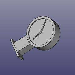 Horloge2.jpg Télécharger fichier STL gratuit modèle d'horloge de gare murale • Design pour imprimante 3D, droz1