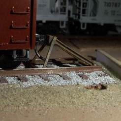 Hayes_WD_bumper.jpg Download free STL file HO scale Hayes track bumper • Design to 3D print, mmodelles