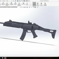 Desktop_Screenshot_2018.06.29_-_13.37.16.38.png Download free STL file Scorpion EVO3 / rainbow six siege • 3D printer object, THEOR1320