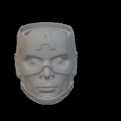 capitan america.png Download free STL file Captain America's Mate • 3D printable model, alexmwilhelm