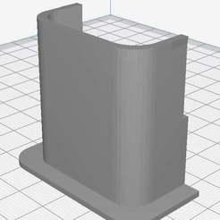 layout.jpg Télécharger fichier STL gratuit Protecteur de câble Ender-3 • Objet à imprimer en 3D, Supavitax