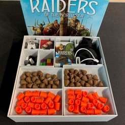 IMG_1821.jpeg Download free STL file Raiders of the North Sea + Expansions Organizer • 3D printable design, greendog99