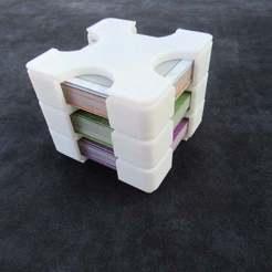 IMG_1625.JPG Download free STL file Gizmos Board Game Card Holder Lid • Model to 3D print, greendog99