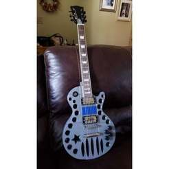 20200129_093054.jpg Download STL file Silver Star Les Paul • Design to 3D print, spollock28269