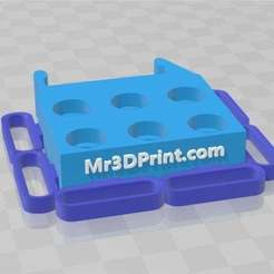 Image22023.jpg Download free 3MF file Needle File Caddy • 3D printing model, spollock28269