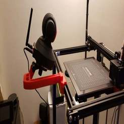 20191206_165341.jpg Download free 3MF file Ender 5 Rail Cameral Mount • 3D printer template, spollock28269