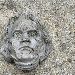 IMG_20201020_161611.jpg Download free OBJ file Ludwig Van Beethoven Sculpture • Model to 3D print, rodrigostettler