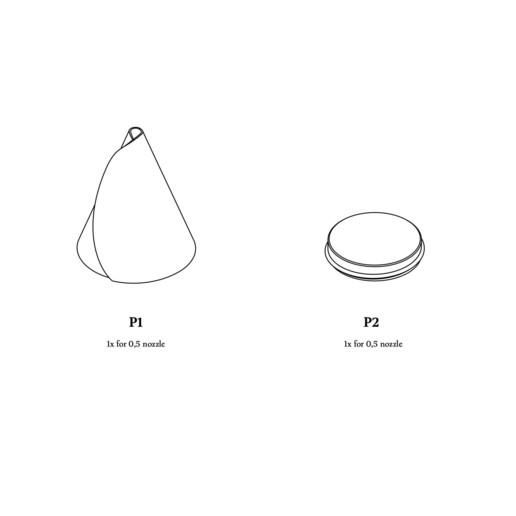 SweetAndSaltyCornet.jpg Download STL file Sweet & Salty Cornet • 3D printable object, alex_boem