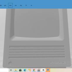 2020-10-27 (13).png Download free STL file Macintosh SE • 3D printable object, The_Designer