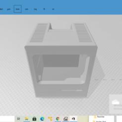 2020-10-27 (45).png Download free STL file Macintosh 512k Body • 3D print object, The_Designer