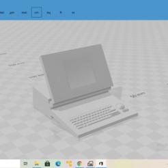 2020-10-27 (17).png Download STL file Macintosh Portable • 3D printer template, The_Designer