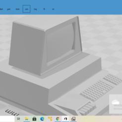 2020-10-27 (41).png Télécharger fichier STL gratuit Commodore Pet • Objet imprimable en 3D, The_Designer