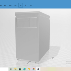 2020-10-27 (21).png Download STL file Old PC and Monitor • 3D printer model, The_Designer