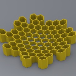 Honeycomb.jpg Télécharger fichier STL Bol à clés en nid d'abeille • Design pour imprimante 3D, PandaRobotics