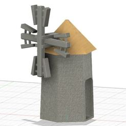 moulin.JPG Download free STL file MOULIN • 3D printable design, jefffabri