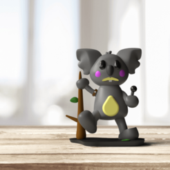 Koala Mercury 6-Vista actual.png Download STL file Singing Koala • Object to 3D print, Yhozzim27