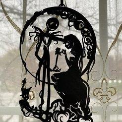image0.jpg Télécharger fichier STL Le cauchemar avant Noël - Décoration des fenêtres • Design à imprimer en 3D, skalavala