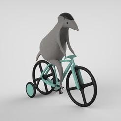 Ratita keyshot.35.jpg Télécharger fichier STL La petite souris sportive • Plan pour imprimante 3D, marianaserranoglz