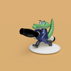 C1.png Download STL file Coco, the designer crocodile • 3D printer design, karenmendezh