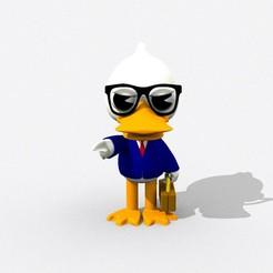 Render 2.jpg Download free STL file Duck Lawyer • 3D printer template, roger40salazar