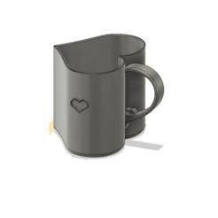 sirds krūze v1.png Télécharger fichier STL Coupe Lowe Heart • Design à imprimer en 3D, tempra