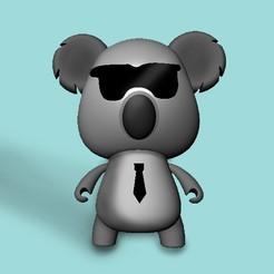 Download STL file koala designer • 3D printer model, sheila