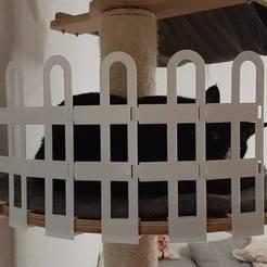 20200404_210258.jpg Download free STL file Cat fence • 3D print design, 3D-Design-Fonshell