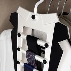 Polish_20201119_220927689.jpg Télécharger fichier STL gratuit Cintre à cravate • Objet imprimable en 3D, 3D-Design-Fonshell