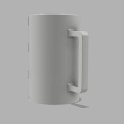 Taza minimalista 1.png Télécharger fichier STL gratuit Tasse minimaliste • Objet pour impression 3D, segabi