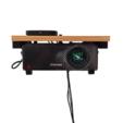 FRONTALL.png Download STL file Adjustable Projector Shelf Bracket • Design to 3D print, 3-Dedulce