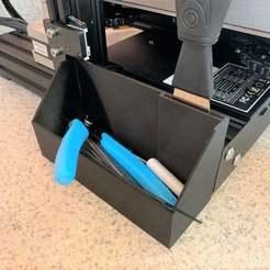 IMG_3146_resize.jpg Télécharger fichier STL gratuit Ender 3 Pro Tool Caddy • Design pour imprimante 3D, ndavis9876
