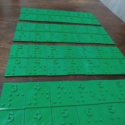 WhatsApp Image 2020-10-30 at 1.45.39 AM.jpeg Download STL file Domino game adapted to Braille reading system • 3D printing template, mundobraille3d