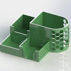 OFFICE ORGANIZER.JPG Télécharger fichier STL ORGANISATEUR • Design pour impression 3D, JB0117