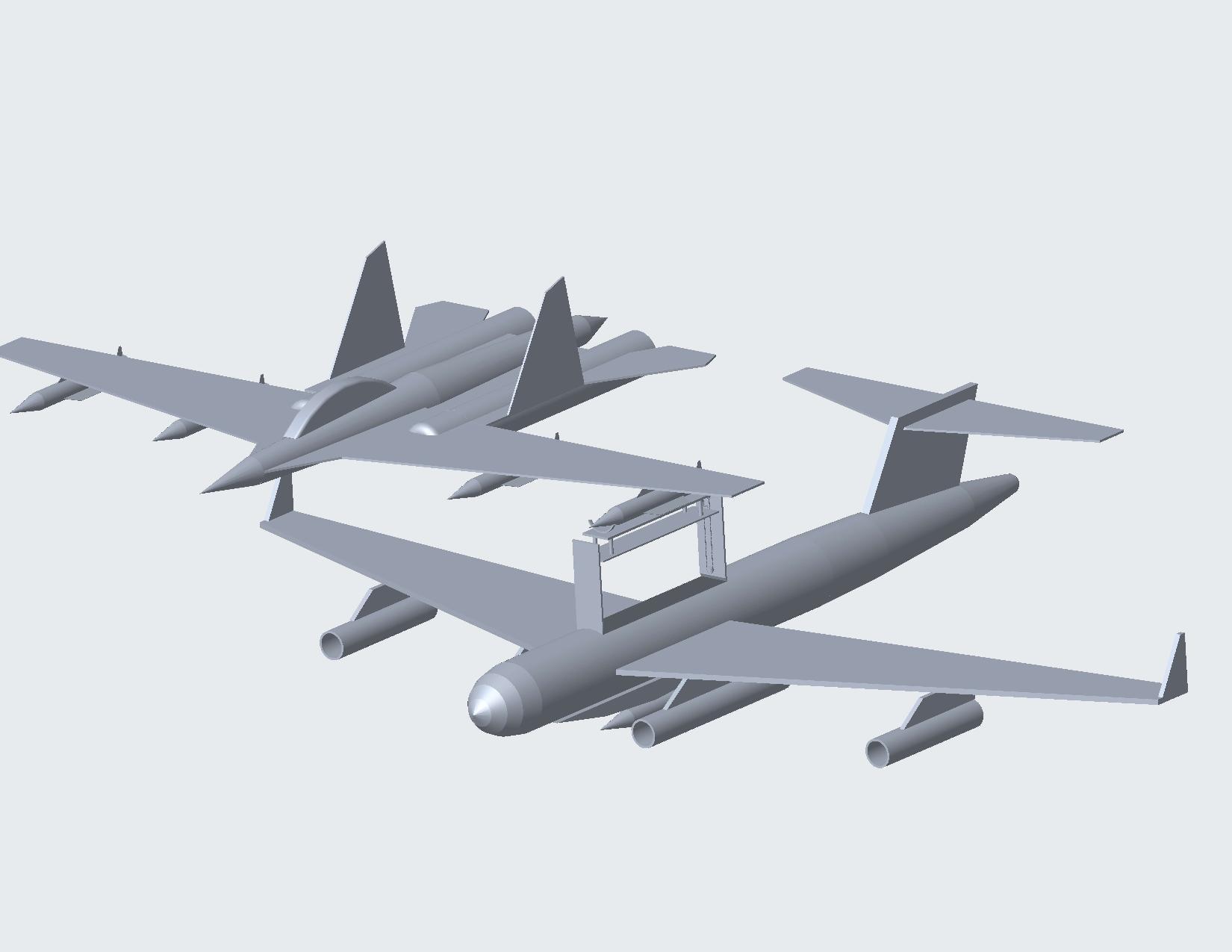 isometric-page-001.jpg Download STL file Dassault Rafale fighter jet • Model to 3D print, brijenggworks
