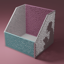 RENDER1.png Download free STL file Mini Library Room • Object to 3D print, Jose_Said
