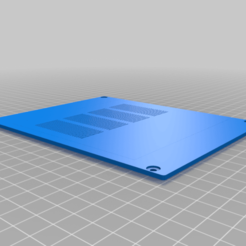 top-panel-corrected.png Download free STL file Mikrotik Routerboard 133/711 enclosure top • 3D printing object, pedjas