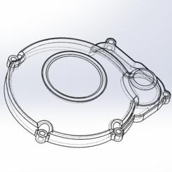 Trait.PNG Télécharger fichier STL Cache Allumage moto am6 • Objet à imprimer en 3D, DylanB