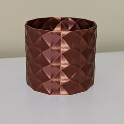 "daisy02.jpg Download free STL file Succulent Plant Pot / Planter ""Daisy"" • 3D print object, thudbuzz"