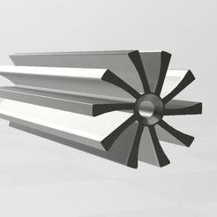 turbine.JPG Télécharger fichier 3MF Turbine hydraulique  • Design imprimable en 3D, beassenexusenrg