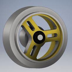 4.JPG Download STL file JDM wheel for scalextric • Design to 3D print, Slot3D