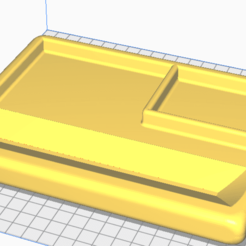 preview tray.png Download STL file Rolling Tray • 3D print object, plastic3dro