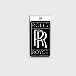 Sans titre-1.png Download STL file Rolls Royce Key Chain • Template to 3D print, pforwiin